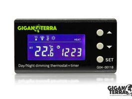Termostato Digital Dimming Día / Noche con Temporizador