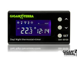 Termostato Digital Día / Noche con Temporizador